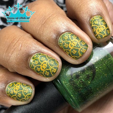 Mr. Green - w/ nail art