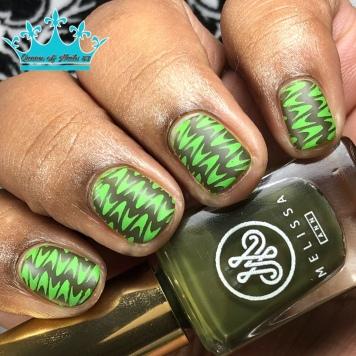 Olivia - w/ nail art
