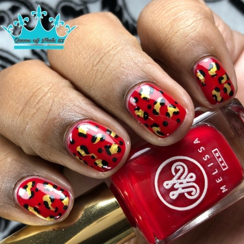 Roses Are - w/ nail art
