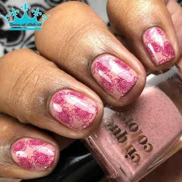 Rose Canyon - w/ nail art