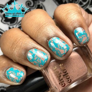 Mineralized - w/ nail art