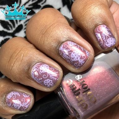 Earthen - w/ nail art