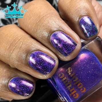 Dusky Skies - w/ nail art