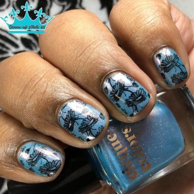 Palm Springs - w/ nail art