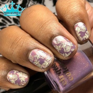 Wildflowers - w/ nail art