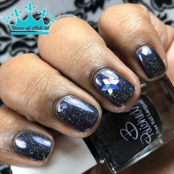 B. Polished - Astrum - w/ nail art