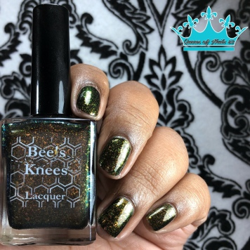 Bee's Knees Lacquer - Bubbling Candle - w/ glossy tc