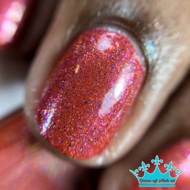 Blue-Eyed Girl Lacquer - Monster in a Turbulent Star - macro