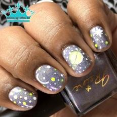 Jreine - The Galaxy Rocks - w/ nail art