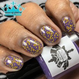 LynB Designs - Simply Crabulous - w/ nail art