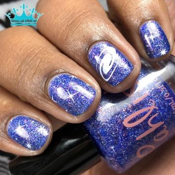 Pahlish - Twisting Nether - w/ nail art