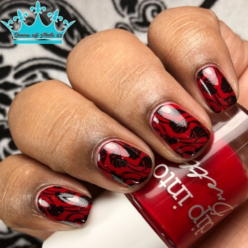 Roses Are Red - w/ nail art