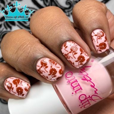 On Pointe - w/ nail art