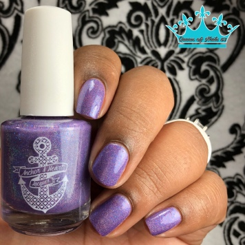 Anchor & Heart Lacquer - A Fairy Enchantment - w/ glossy tc