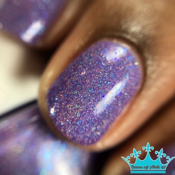 Anchor & Heart Lacquer - A Fairy Enchantment - macro