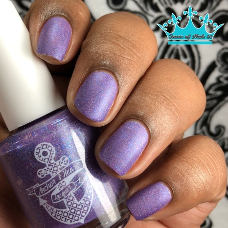 Anchor & Heart Lacquer - A Fairy Enchantment - w/ matte tc