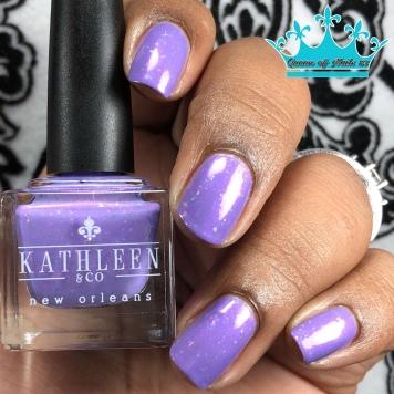 Kathleen & Co - Purple Pixies on Parade - w/ glossy tc