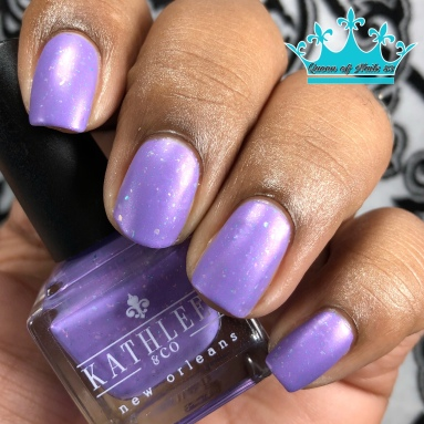 Kathleen & Co - Purple Pixies on Parade - w/ matte tc