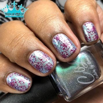 24K Magic - w/ nail art