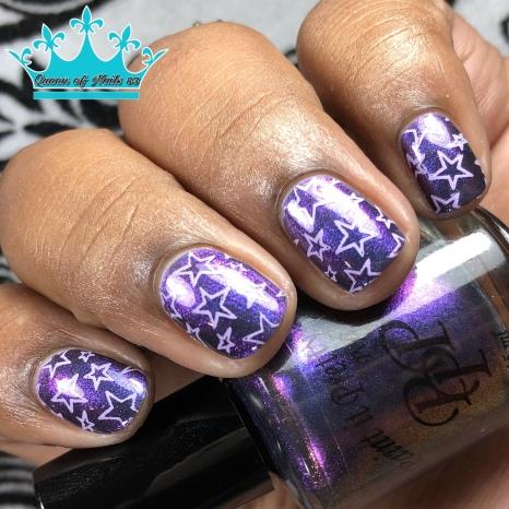 The Black Queen - w/ nail art