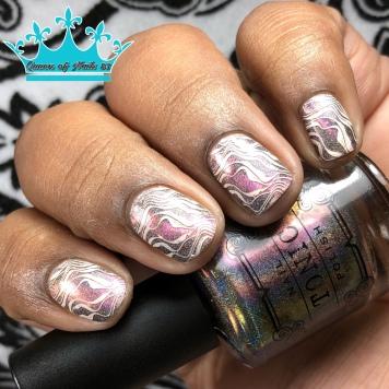 Divine - w/ nail art