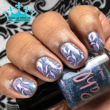 Nightmare Moon - w/ nail art