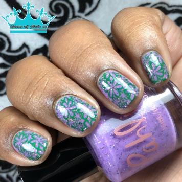 Twilight Sparkle - w/ nail art