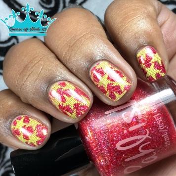 Cactus Rose - w/ nail art