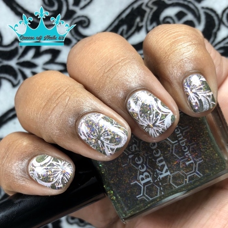 The Maze - w/ nail art