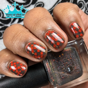 Dragons - w/ nail art