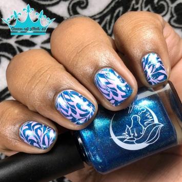 The Lake - w/ nail art