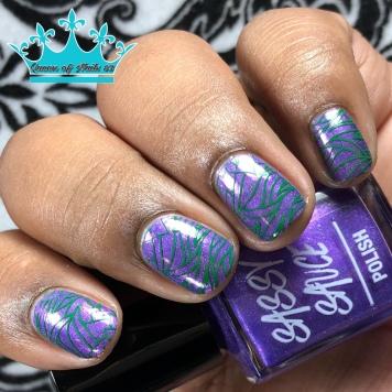 Peace Out - w/ nail art