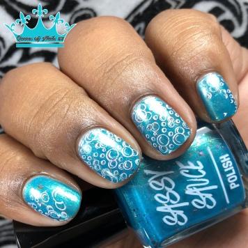 Mermaid Mouthwash - w/ nail art