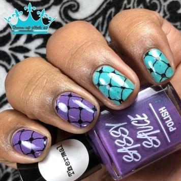 Twerple - w/ nail art