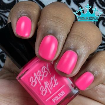 Pinki's Out - w/ matte tc