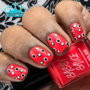 Comin' in Haute - w/ nail art