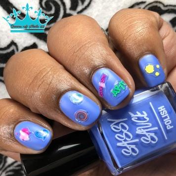 Peri - w/ nail art