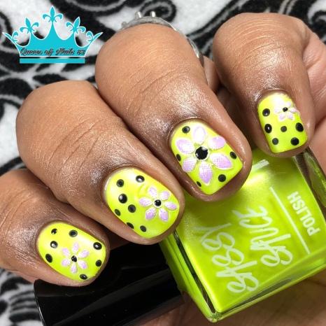 Don't Call Me Mellow - w/ nail art