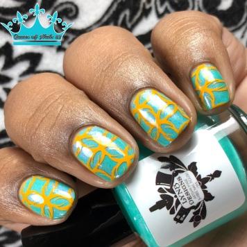 Echo Fabulous - w/ nail art