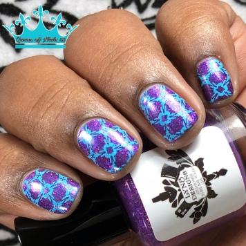 Cleocatra Comin at Ya - w/ nail art