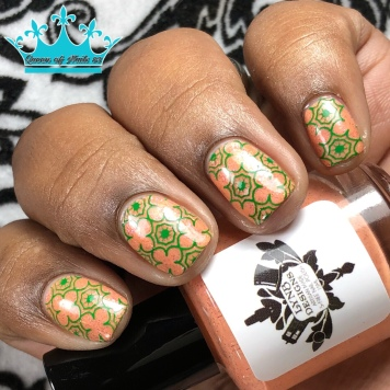May the Forrest be With You - w/ nail art