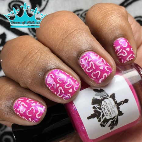 Max-Imum Splash - w/ nail art