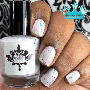 Spotty and Dotty All Over - w/ glossy tc