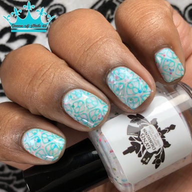 Spotty and Dotty All Over - w/ nail art