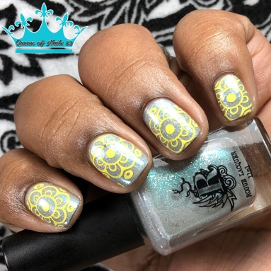 Blowing Off Steam - w/ nail art