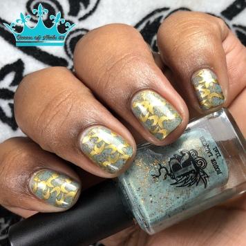 Retro Future - w/ nail art