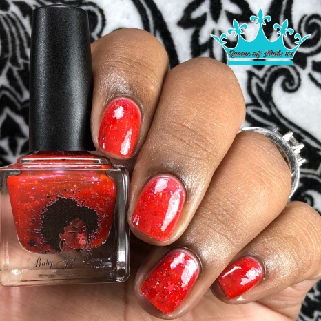 """Baby Girl Lacquer - """"Ultimate Sacrifice"""" - w/ glossy tc"""