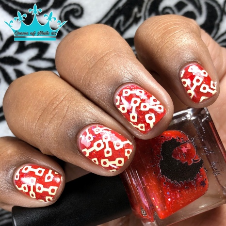 """Baby Girl Lacquer - """"Ultimate Sacrifice"""" - w/ nail art"""