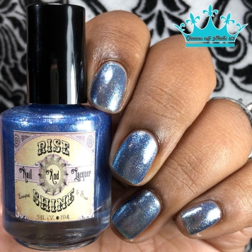 "Rise and Shine Lacquer - ""The Price of Courage"" - w/ glossy tc"