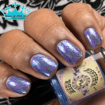 """Rise and Shine Lacquer - """"The Price of Courage"""" - w/ nail art"""